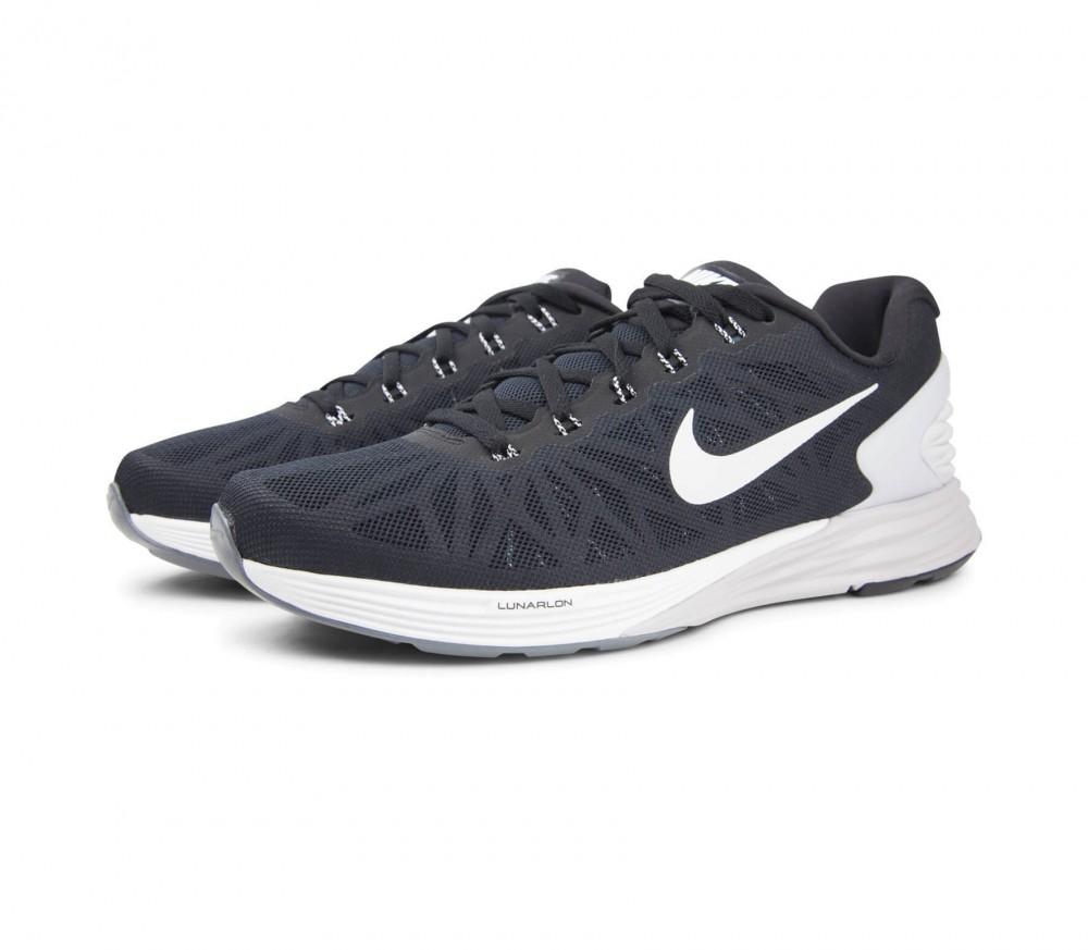 huge selection of 1746e 24897 ... Sneakers 131139  Nike - Lunarglide 6 Herr löparskor (svart grå) ...