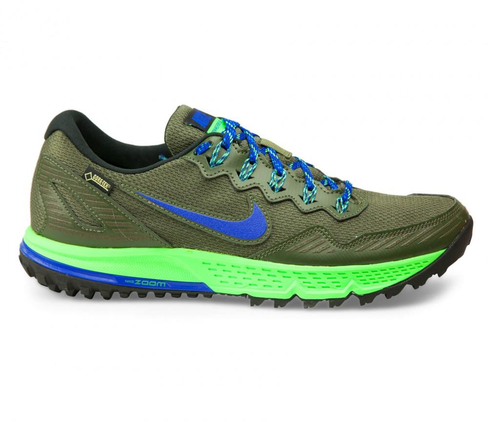 Nike - Air Zoom Wildhorse 3 GTX Herr löparskor (blå/khaki)