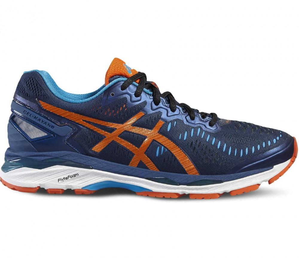 ASICS - Gel-Kayano 23 herr löparskor (mörkblå/orange)