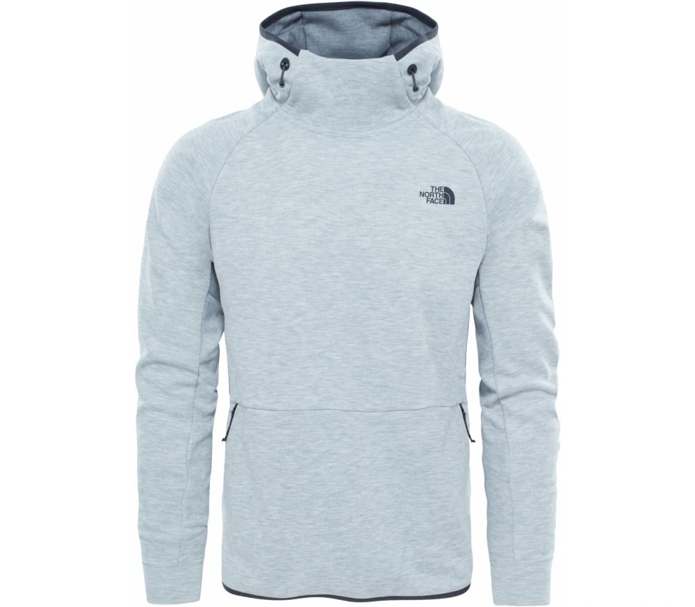 the north face mountain slacker pull on men 39 s hoodie light grey handla online p keller sports. Black Bedroom Furniture Sets. Home Design Ideas