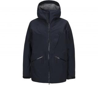 peak performance bec j mens skis jacket blue