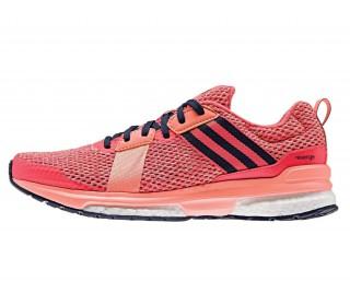 uk availability ba143 7c9fc adidas revenge boost mesh dam löparskor röd