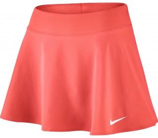 new arrival ae863 252a9 nike court womens tennis skirt orange white