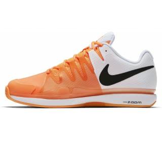 b2b79e68f9bf6 nike air zoom vapor 9.5 tour clay children tennis shoes whiteß orange
