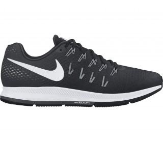 online store b4485 334e1 nike air zoom pegasus 33 mens running shoes black white