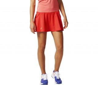 new styles fea93 0b32d adidas club womens tennis skirt coral dark pink