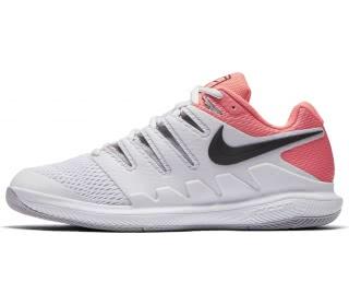 sports shoes bfa65 fef69 nike air zoom vapor x womens tennis shoes grey pink