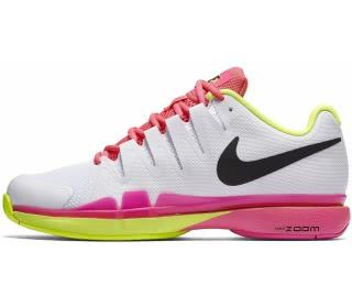 detailed look 71f03 8fca4 nike zoom vapor 9.5 tour dam tennis shoe vit rosa