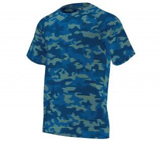 wholesale dealer bc3f2 35044 adidas clima base herr träningsshirt blå silver