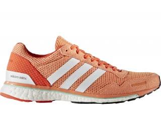 sports shoes d7b46 ca983 adidas adizero adios womens running shoes orange white