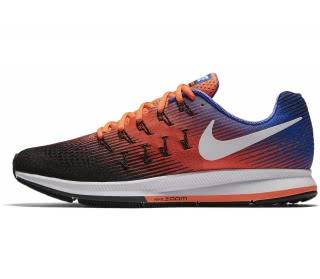 on sale bb786 9c8f0 nike air zoom pegasus 33 mens running shoes orange blue