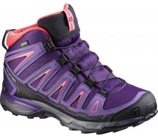 best sneakers e3693 87108 salomon wings access gtx walkingsko svart blå stabil med god ...